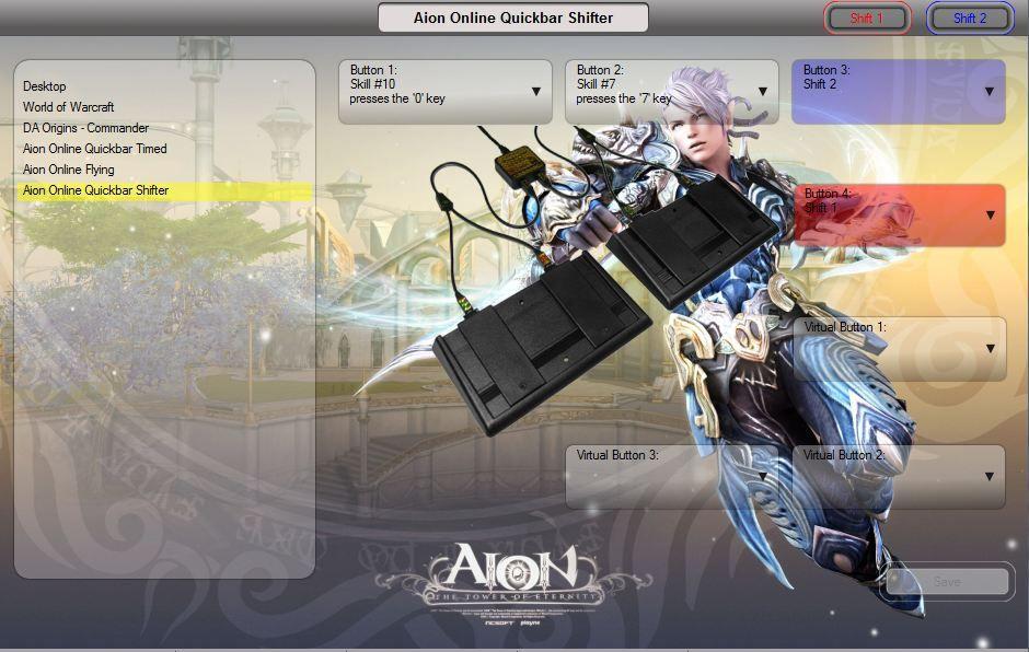Aion Online Quickbar Configuration