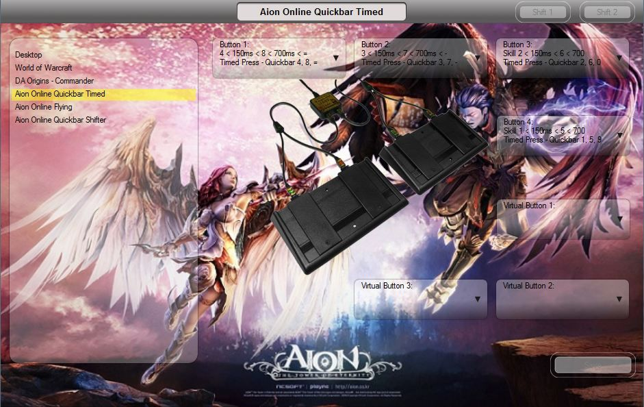 Aion Online Quickbar Timed Press